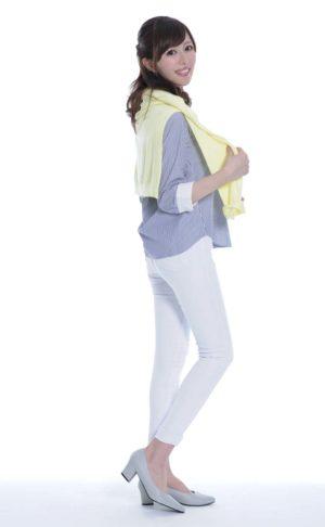 爽やかシャツスタイル(紫外線対策をしながらできる、おしゃれコーデ)