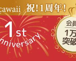 Rcawaii 1周年記念